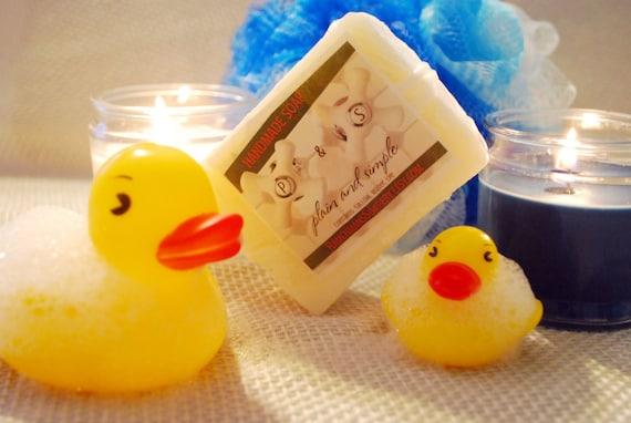 Handmade Plain & Simple  Lye Soap