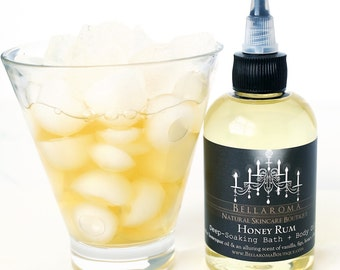 Honey Rum Deep-Soaking BATH + BODY OIL