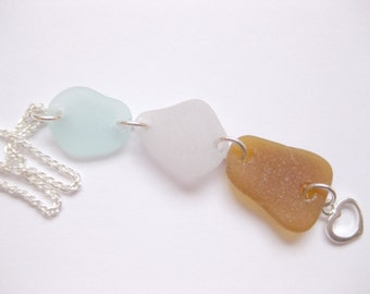 Sea Glass Pendant Beach glass necklace Seaglass Jewelry Beach Glass Jewelry Handmade, Custom Jewelry