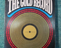 Vintage 1970's Pop Music book -The Gold Record -1978 -50 Artists - Over 80 Photos -Vintage Pop History Book