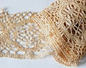 vintage piece of wide lace