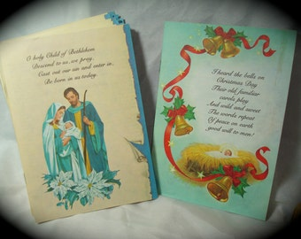 1977 Guideposts Magazine Christmas Edition Booklet Cards.