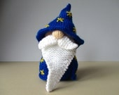 Grumble-Snuff the Wizard toy knitting patterns