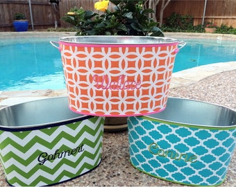 Beverage Tubs, with Neoprene cover, Embroidery Name or Initials