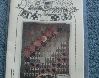 Cub Lake - by Clothesline Quilts - wide Twin or Lap Size Pattern