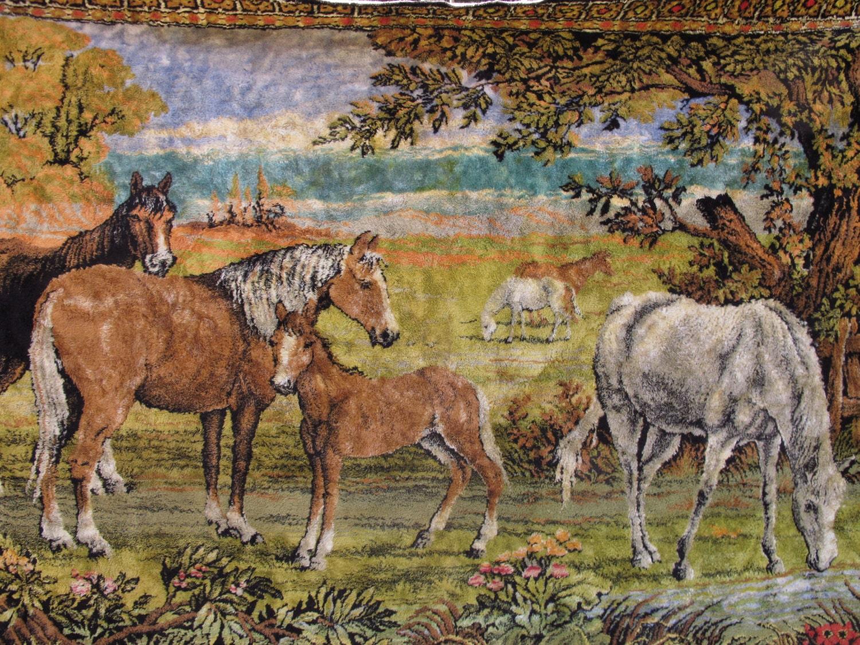 Large Horse Tapestry V... Yellow Velvet Ant