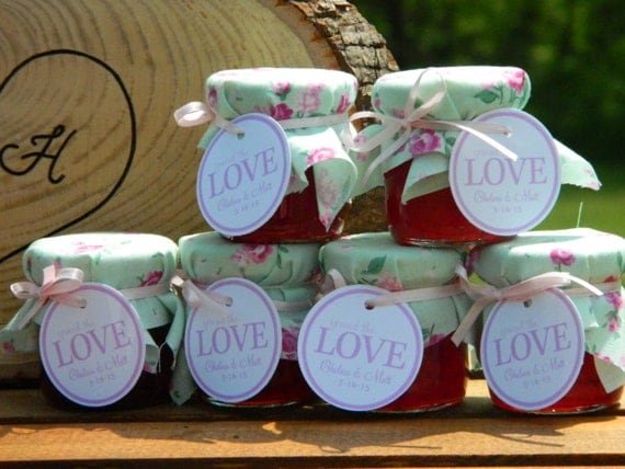 Rustic Country Wedding Favors Ideas