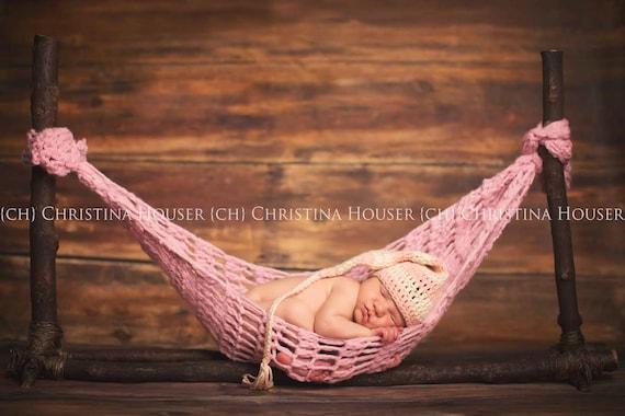 Newborn Hammock Pod Photo Prop Soft Pink