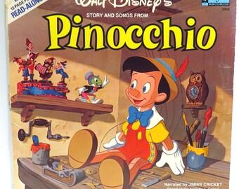 Pinocchio #1 Album Cover Purse Custom Made Vintage Record Purse Walt Disney LP Album Handbag Tote