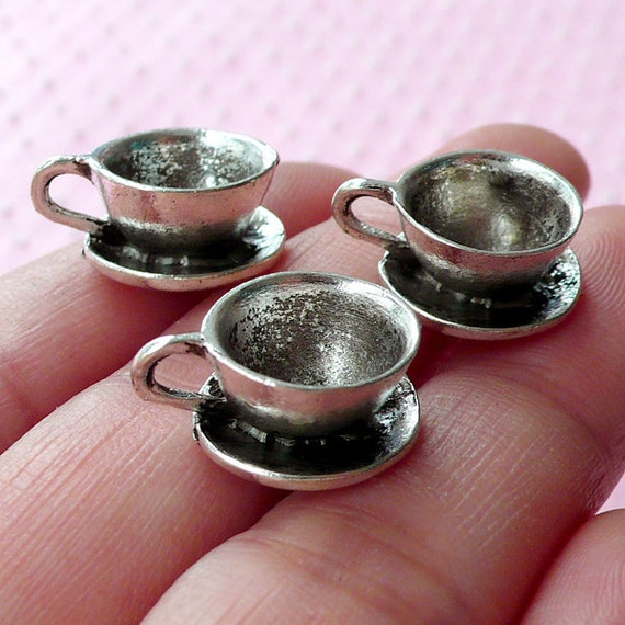 Dollhouse Coffee Cup Charms 3d Miniature Cup By Miniaturesweet