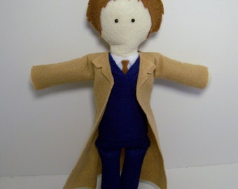 10th Doctor dopplegeek pattern *sale*
