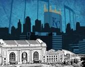 Kansas City Royals Limited Edition Print
