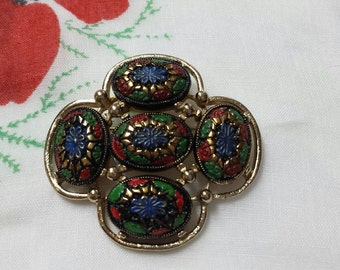 Light of the East Sarah Coventry  Brooch