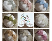 Simply knitted newborn head wrap ANY 4 FOR 10 POUNDS