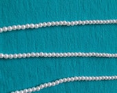 350 3mm White Pearls Plastic Beads, White Pearl Beads, White Round Smooth #4