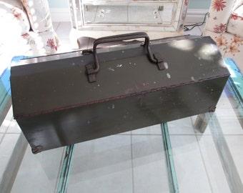Vintage Steel Toolbox
