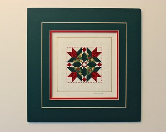 "12"" x 12"" matted PaperQuilt"