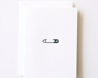New Baby - Letterpress Printed Greeting Card