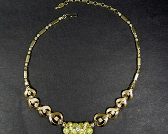 Sarah Coventry Rhinestone Necklace