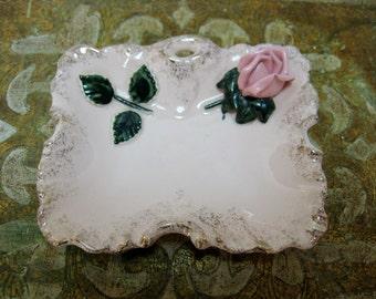 Pink Rose Dish