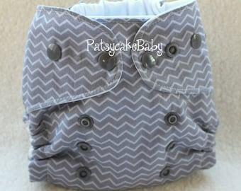 MINI-One Size Newborn PUL Cloth Diaper Cover Custom Fabric Choices