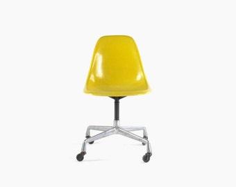On Hold-Eames for Herman Miller Aluminum Swivel Base Side Chair-PSCC