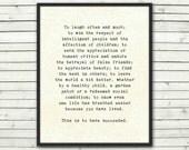 Life Quote print, inspirational art, typography, graduation gift