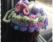Cupcake Cradle Purse, Ice Cream crochet purse for little kids, tote bag