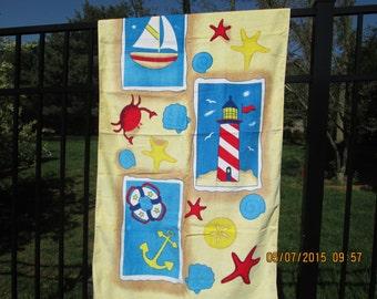 Beach Towel-Nautical theme-Sale