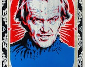 Stenciled Shining Jack Torrance Print