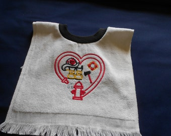 Fireman, over the head bib