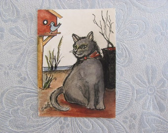 ACEO  Original Watercolor Painting