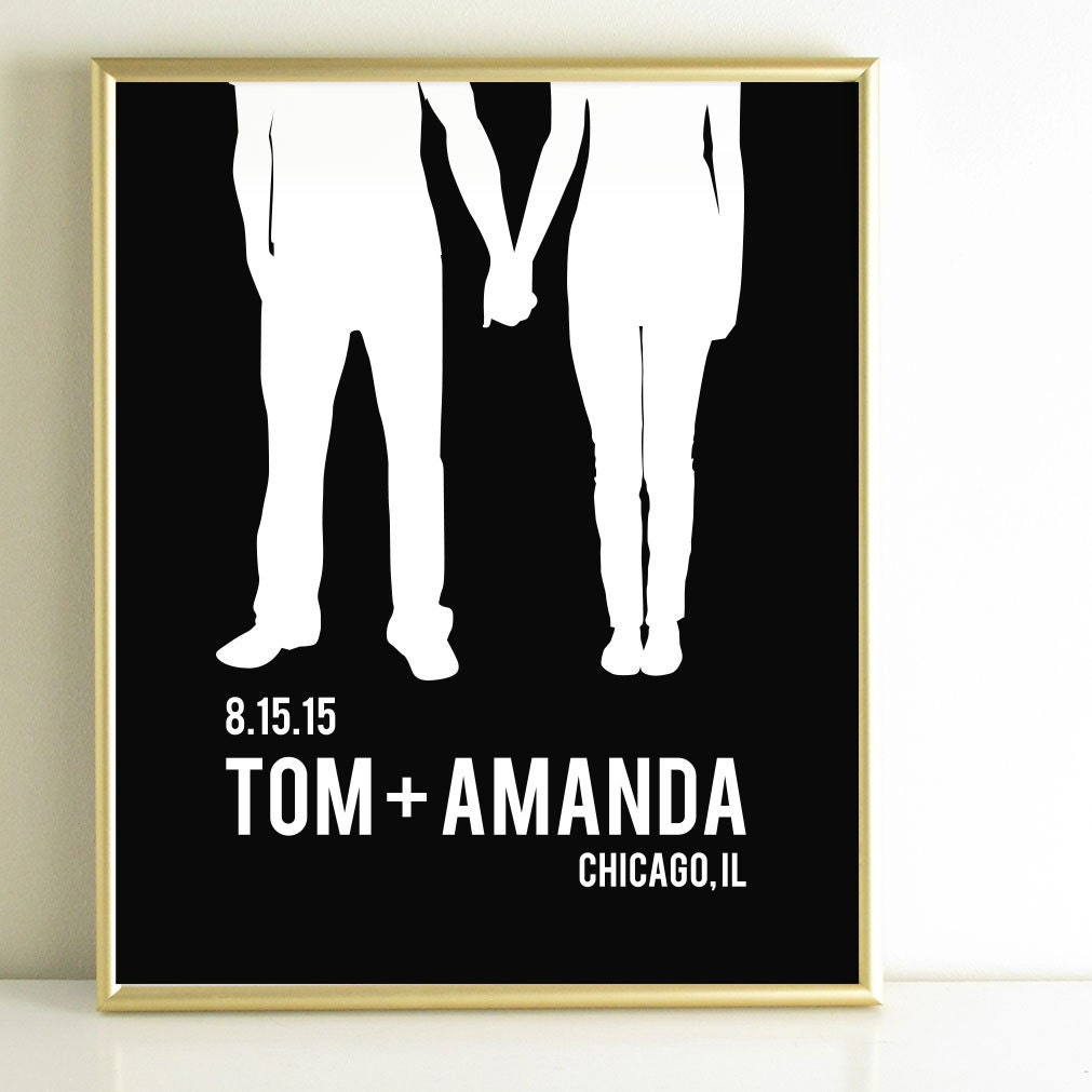 Wedding Gifts For Couple Etsy : wedding gifts for couple Gift for him by AppleBlossomPrint on Etsy