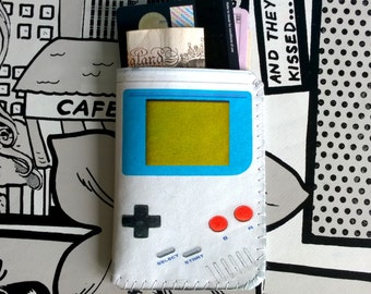 Business Card Holder-Business Card Case-Credit Card Holder-Credit Card Case-Oyster Card Holder-Retro Portable Game Console Card Case