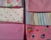 Kawaii Pastel Fabric Bundle