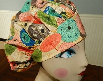 Japanese Umbrellas  Banded Bouffant Surgical Cap