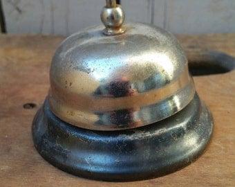 Shabby vintage desk bell