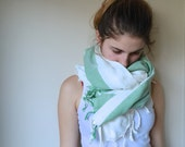 Peshtemal Towel & Scarf Hand Woven CottonTurkish Bath,Beach,Spa,Yoga,Pool Towel