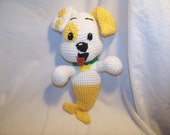 Crochet Bubble Puppy Guppie dog