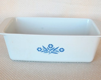 Vintage Corning Ware Loaf Pan P-315-B Vintage Cornflower Blue Loaf Dish in EXCELLENT condition