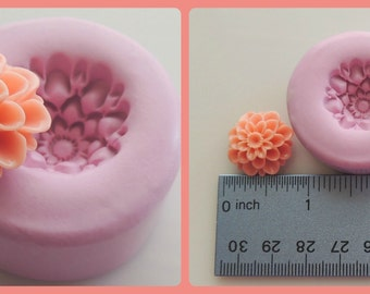 Flower Mold Flower Cabochon Fondant Clay Resin Mold