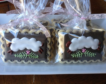 Baby Lamb Baby Shower Sugar Cookie Collection