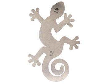 Lizard Fusaic Base for Mosaics or Fusing to Hang on Wall