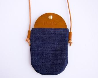 Bali Crossbody Bag - Dark Wash Denim