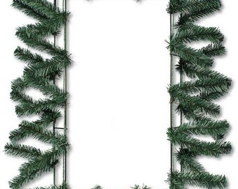 """Rectangle Pine Green Work Form XX740009, 25"""" Poly Deco Mesh Frame , Poly Mesh Supplies"""