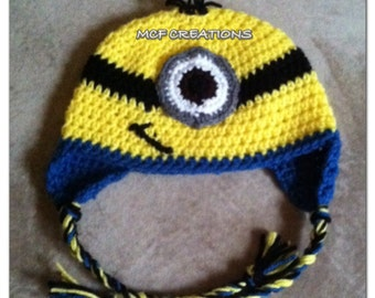 One-Eyed Minion Hat