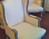 SALE! Italian Wing Chair