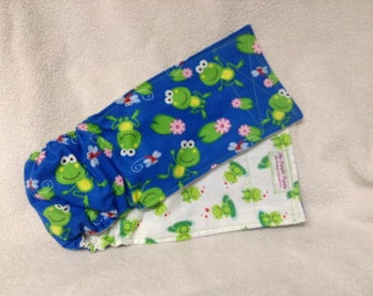 Male Dog Belly Band Pet Diaper Wrap   Frogs And Fireflies Custom Sizes To 30 Inches