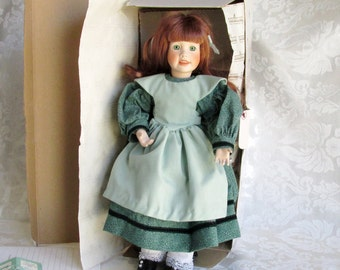 Little Women Collection Beth In Original Box Ashton Drake Galleries Handcrafted Porcelain Doll