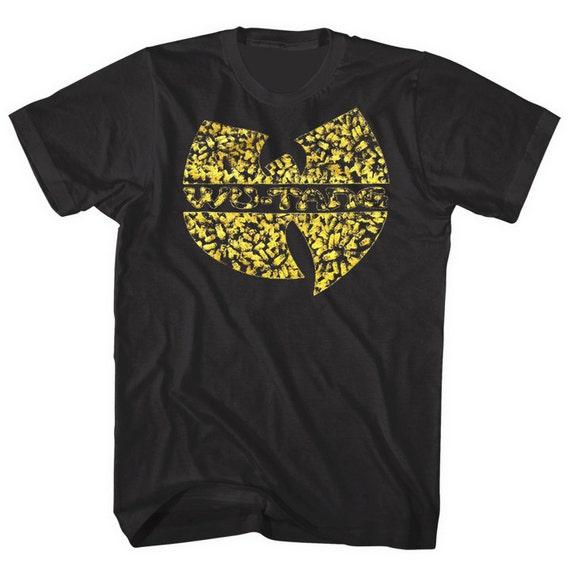 Wu Tang Killa Bees Shirt Ring Spun Free Shipping